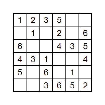 Corrupt Sudoku 1